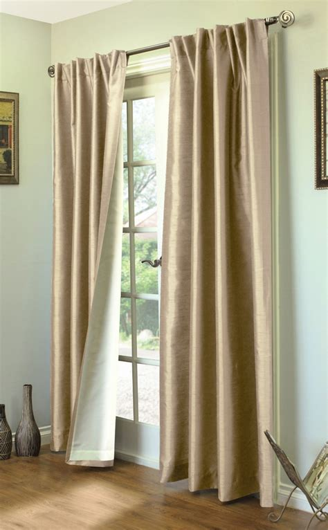 curtain outlet online ming lined thermasilk two ways to hang curtain panels pair