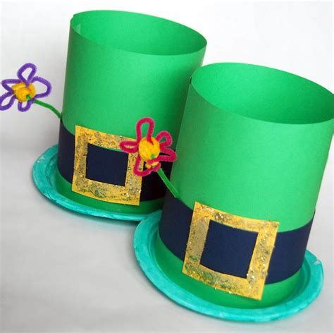 hat craft for st patricks day hat crafts find craft ideas