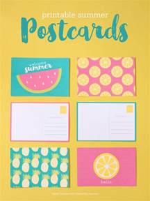 printable summer postcards capturing with kristen duke