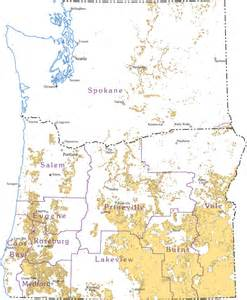 blm map oregon socioeconomic impacts of the blm oregon washington blm