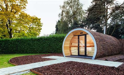 garten sauna optirelax deluxe gartensauna relaxpipe big