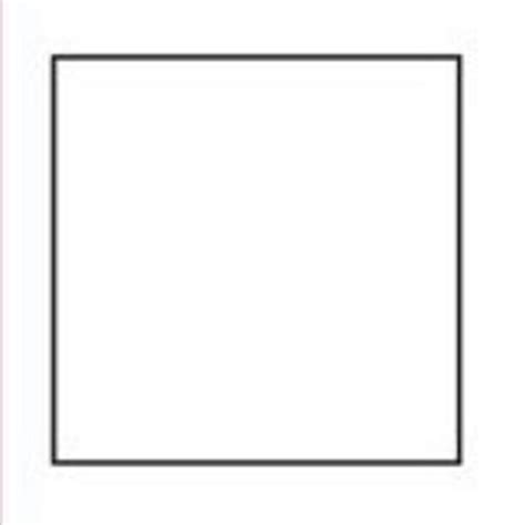 Square Templates best photos of square shape template preschool