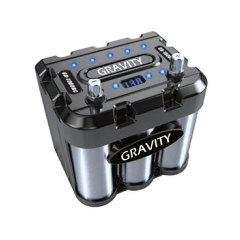audio battery capacitor gravity audio 1000a car battery capacitor with led black chrome gr 1000bc tr zone service