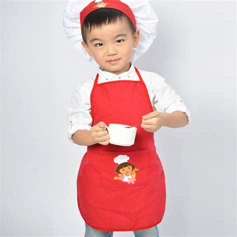Apron Celemek Anak By Bipstuff merah anak apron set celemek lukisan anak memasak dan
