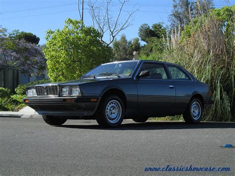 85 Maserati Biturbo by 1985 Maserati Biturbo By Classic Showcase