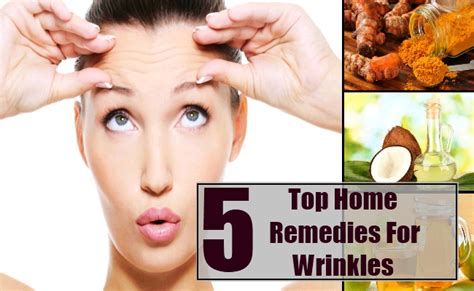 top 5 home remedies for wrinkles treatments