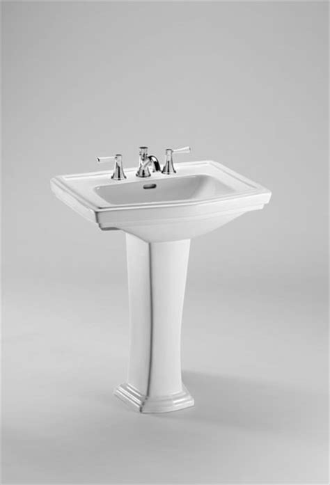 toto clayton pedestal sink toto clayton 174 pedestal lavatory sink allied phs
