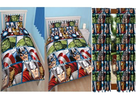 marvel curtains uk marvel avengers shield single double rotary duvet