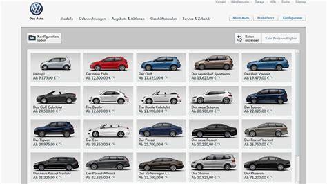 Bester Auto Konfigurator by Online Konfiguratoren Haben Verbesserungspotenzial