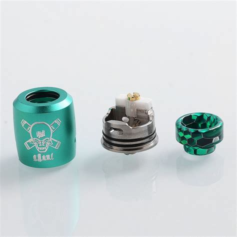 Rda Authentic Blits Ghoul Bf 22mm authentic blitz ghoul bf rda green 22mm rebuildable atomizer
