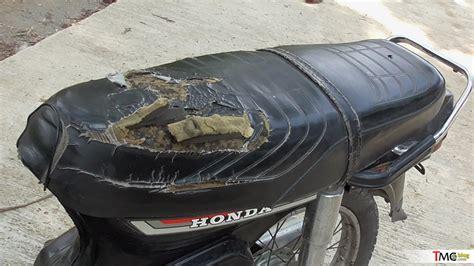 Jok Honda C70 Standart Bahan Berkualitas vlog dapat bahan restorasi lagi honda astrea 1987 butut tmcblog