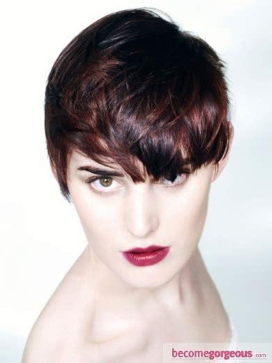 pelo muy corto con flequillo recogidos 2012 peinados