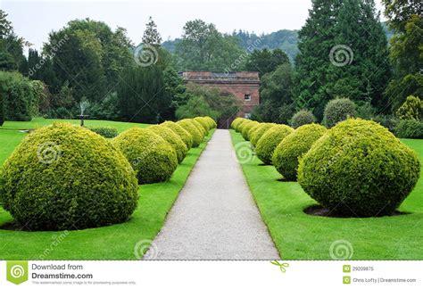 path   formal english garden royalty  stock