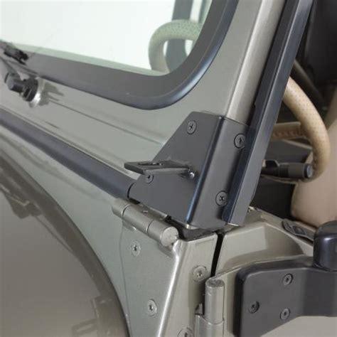 jeep yj windshield hinges all things jeep windshield hinge light brackets 76 95