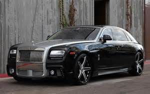 Picture Of Rolls Royce Ghost Wald Rolls Royce Ghost On Forgiato Wheels
