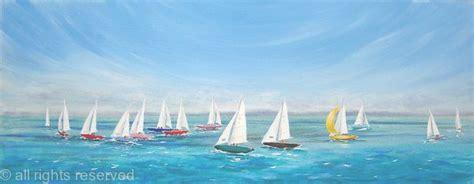 mermaid sailing boat mermaid yachts sailing acrylic on 3d canvas