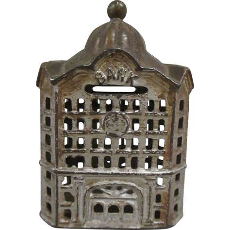 Coin Bank By Coin Bank antique cast iron coin bank from unexpectedjoy on ruby