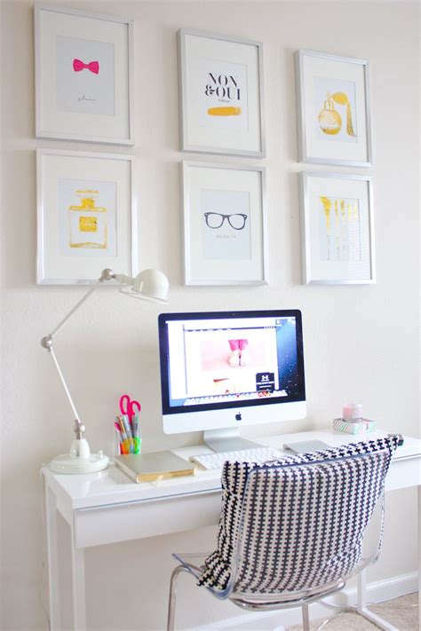 Simple Office Decorating Ideas 1000 Images About Home Office Ideas On Pin Boards White Office And Ghost Chairs