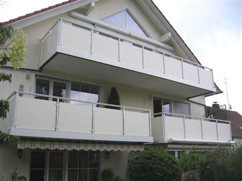 balkongeländer aluminium selbstbau balkongel 228 nder und balkonverkleidung aus aluminium und