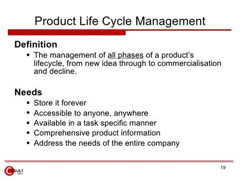 product definition of product by the free dictionary 11 4 product life cycle management