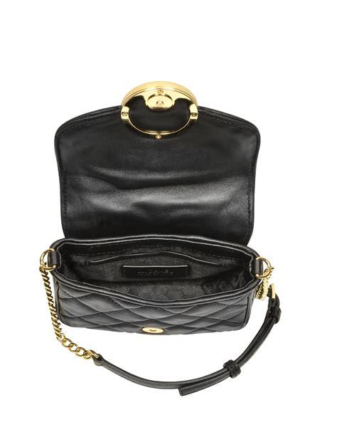 Small Crossbody Bag michael kors small fulton quilted crossbody bag in black
