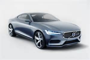 new design of car volvo concept coupe signals new design direction car