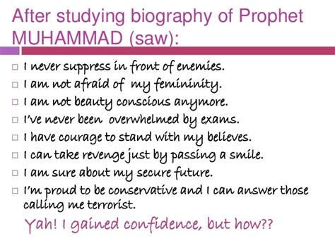 biography of prophet muhammad companions confidence from holy prophet s life