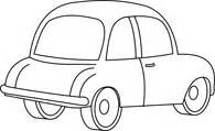 free black and white cars outline clipart clip