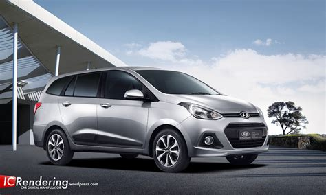 hyundai grand i10 mpv indonesia car rendering