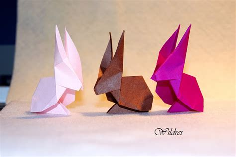Origami Hase Faltanleitung by Wildres Faltanleitung Origami Hase