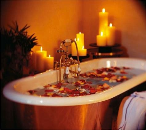bathtub candles a relaxing candle lit bubble bath will make for a great