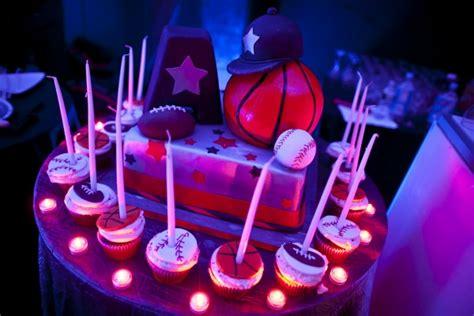 candele sportive unique candle lighting ideas sports theme bar mitzvah