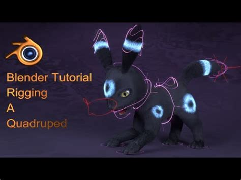 blender tutorial inverse kinematics quadruped rigging in blender part 2 inverse kinematics
