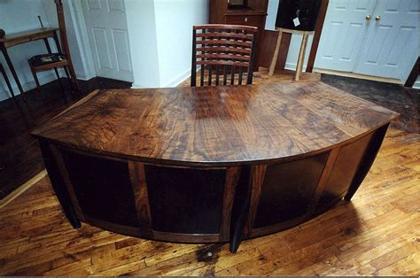 custom built desks home office custom home office desk by woodworks ltd