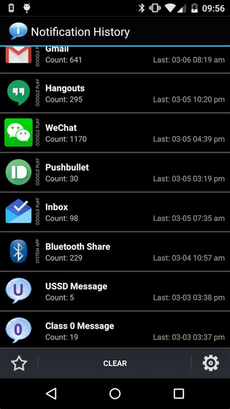 android notification notification history android app review