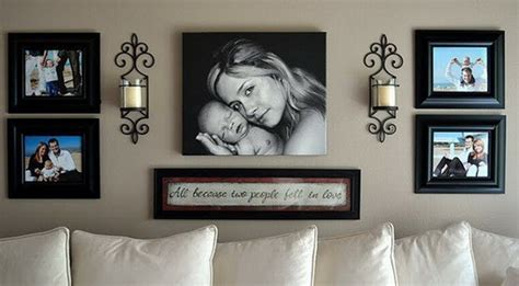 pinterest gallery wall 50 cool ideas to display family photos on your walls
