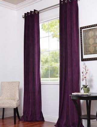deep purple velvet curtains pinterest the world s catalog of ideas