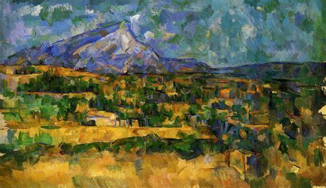 cezanne and cubism mont sainte victoire artist paul cezanne completion date