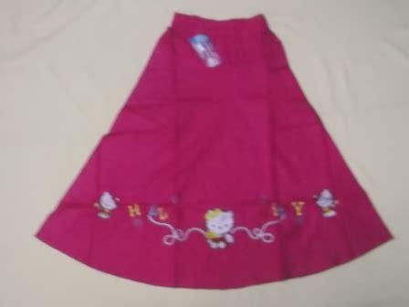 Rok Anak Bahan Scuba 1 jual rok panjang anak anak bahan katun umur 4 5 6 tahun