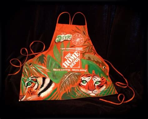 home depot aprons by artist rogers page www