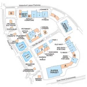 florida mall orlando map waterford lakes town center directory waterford lakes