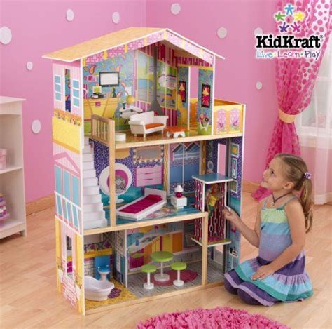 barbie doll house amazon wooden barbie doll house barbie and ken then and now pinterest