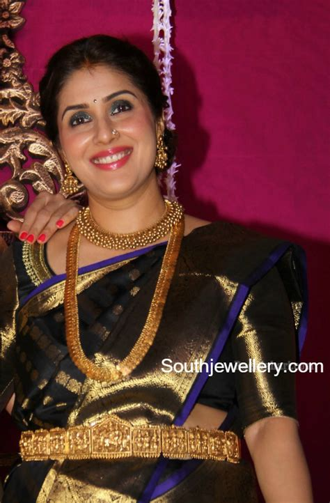 Designer Fans keerthi reddy in traditional jewellery jewellery designs
