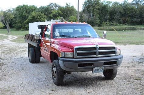 ram fish for sale buy used live fish hauling truck 1996 dodge ram 3500 with