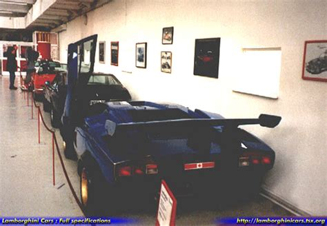 Lamborghini Countach Modified by Walter Wolf Specials Wolf2ndr Hr Image At Lambocars