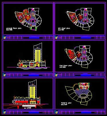 commercial building dwg plan  autocad designs cad