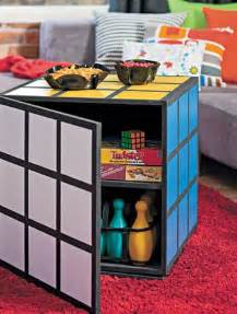 nerd diy how to make a rubik s cube coffee table by