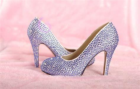 light purple wedding shoes light purple rhinestone wedding bridal shoes fashion