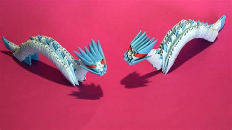 3d origami dragon tutorial youtube 3d origami small dragon tutorial for beginner youtube