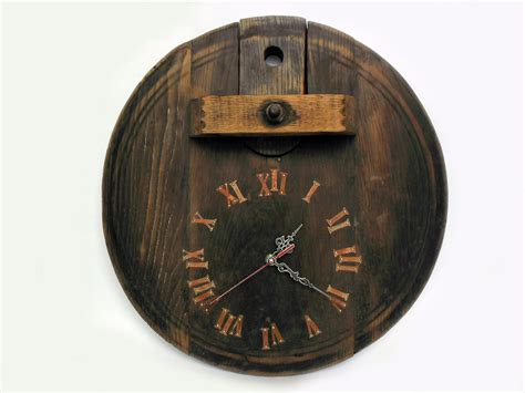 unique wall clock 17 large rustic wall clock unique big by thirdcloudtotheleft